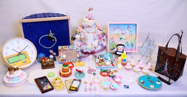 ありがとう平成!おもちゃで作るハンドメイド作品展の出展作品イメージ