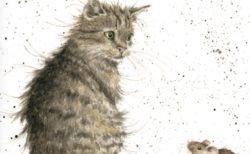 イギリスの動物画家ハンナ・デールが描く猫グッズのお店が期間限定でオープン