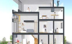 愛猫家&自転車乗りをターゲットにした新築マンションが竣工、内覧会を開催