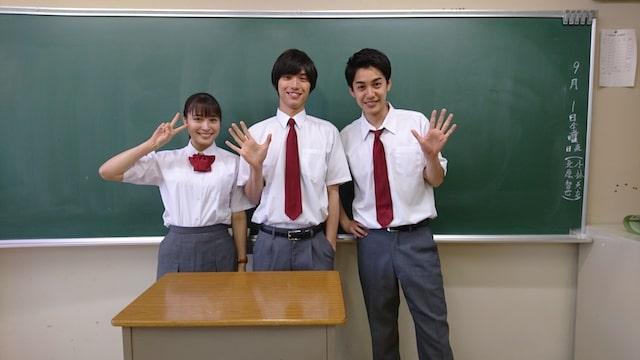 映画・旅猫リポートで高校の同級生を演じる福士蒼汰・広瀬アリス・大野拓朗