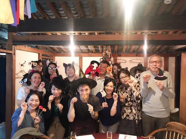 猫端会議の参加者による記念撮影