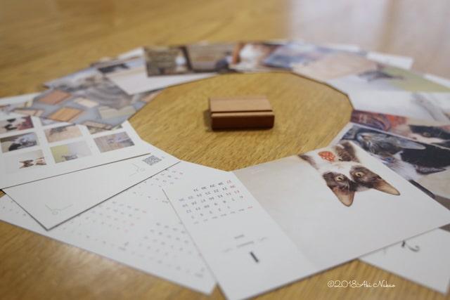 2019年 nanonya.Aki 保護猫カフェ×チャリティカレンダーの商品イメージ