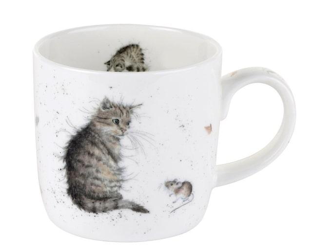 猫とねずみがデザインされたマグカップ by イギリスの雑貨ブランド・レンデル