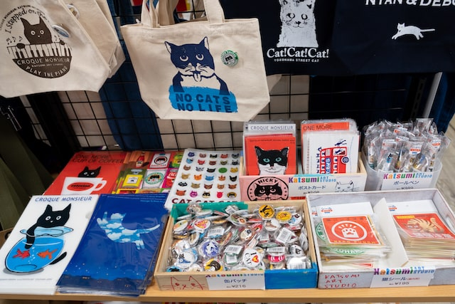 猫グッズの展示即売イベント「福ねこぐらし」の会場イメージ4