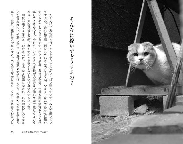 書籍「猫も老人も、役立たずでけっこう」の中身イメージ