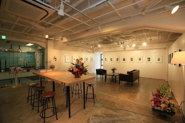 京橋にあるギャラリー「72GALLERY」の内観イメージ