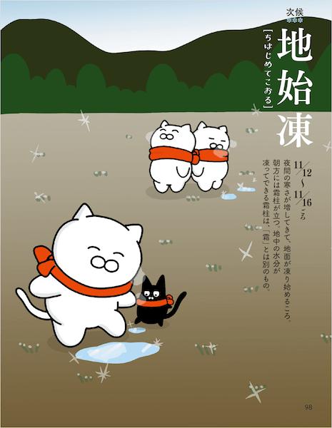 地始凍の解説ページ by いやしの七十二ャ候