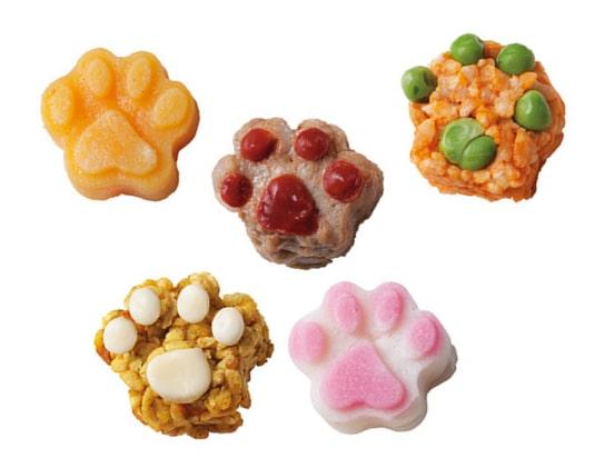 ねこ型ごはん・惣菜セットの商品イメージ