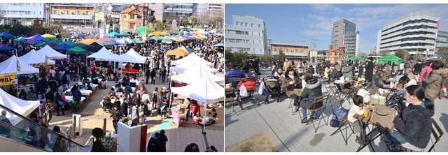くらしをいろどるFarmer's Marketの開催イメージ