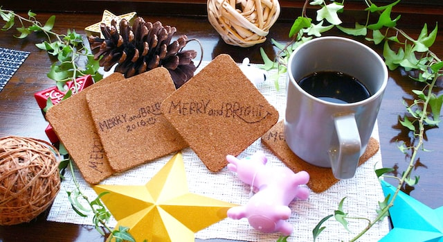カフェ「MERRY and BRIGHT」のカフェメニュー