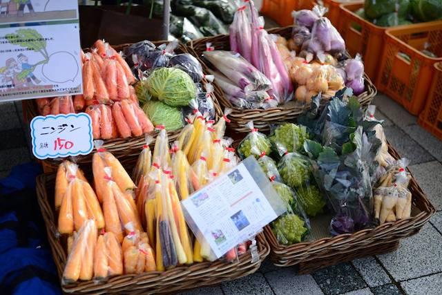 地元農家の新鮮な野菜 by 「くらしをいろどるFarmer's Market」