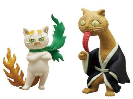 コワ可愛い猫の妖怪がカプセルトイで登場「ばけねこぞろぞろ 其の2」