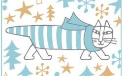 猫のマイキーグッズもあるニャ♪ リサ・ラーソンのクリスマスが松屋銀座で開催