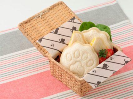 肉球サンドイッチも作れるニャ!貝印の猫型キッチン雑貨 Nyammyシリーズの第4弾が登場