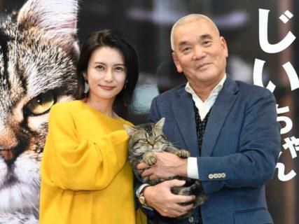 岩合監督&柴咲コウが撮影エピソードを披露!映画「ねことじいちゃん」イベントレポート