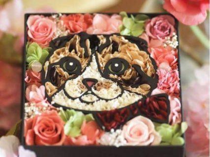 ネコ好きな奥様にピッタリ!愛妻の日ギフト「ペットの似顔絵フラワー」
