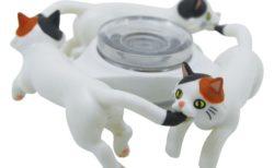 ハンドスピナーの猫版「スピにゃ〜」の三毛猫バージョン