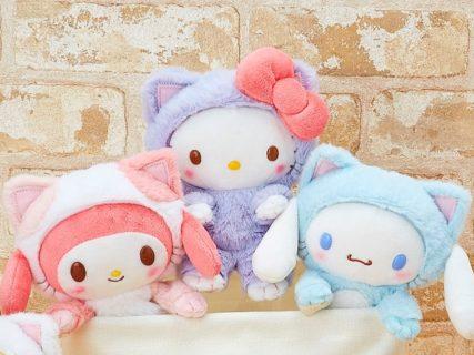 シナモロールも子猫に変身!サンリオが「猫の日」を記念したぬいぐるみを発売