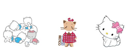 サンリオの歴代猫キャラニャニィニュニェニョン/ウィンキーピンキー/チャーミーキティ
