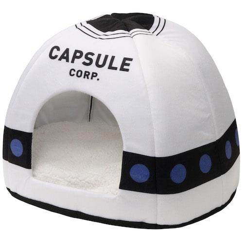 キャラペティのペット用グッズ「ドームベッド(カプセルコーポレーション)」の製品イメージ