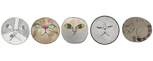 猫ミックスキャンディの応募イラスト bypapabubble(パパブブレ)