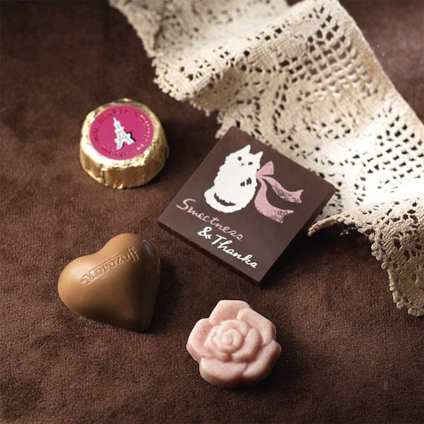 モロゾフのバレンタインチョコ「お気に入りの石畳」製品イメージ