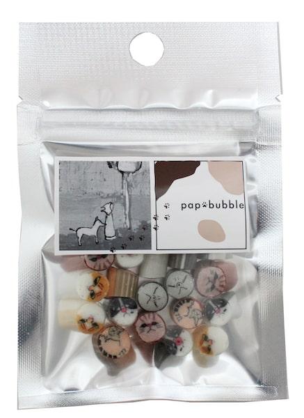 猫ミックスキャンディの商品パッケージ bypapabubble(パパブブレ)