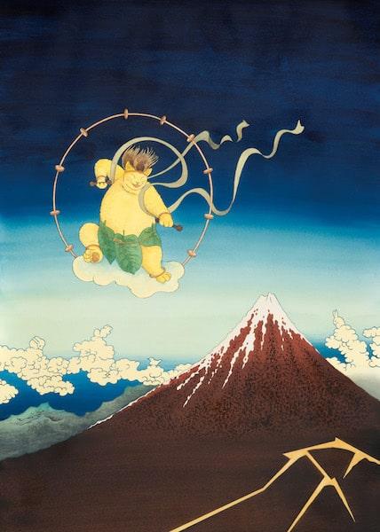 ますむらひろし《米沢市立興譲小学校創立130周年記念ポスター》2010年発表