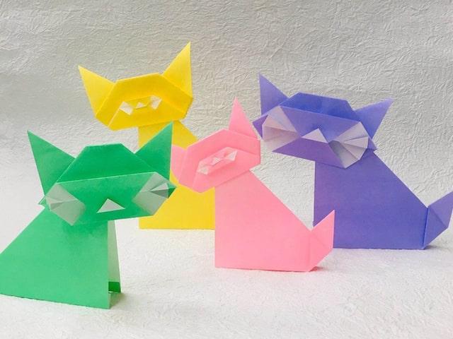 猫の折り紙ワークショップ by ねこまつり