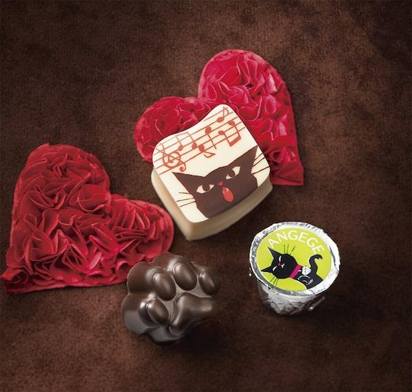 ゴンチャロフのバレンタインチョコ「アンジュジュ」製品イメージ