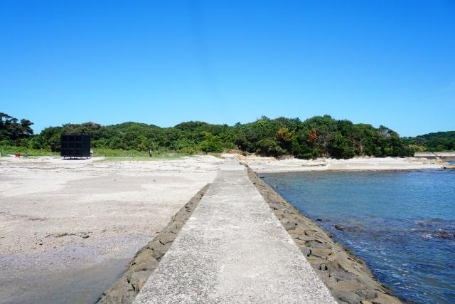 愛知県西尾市に属する佐久島の風景