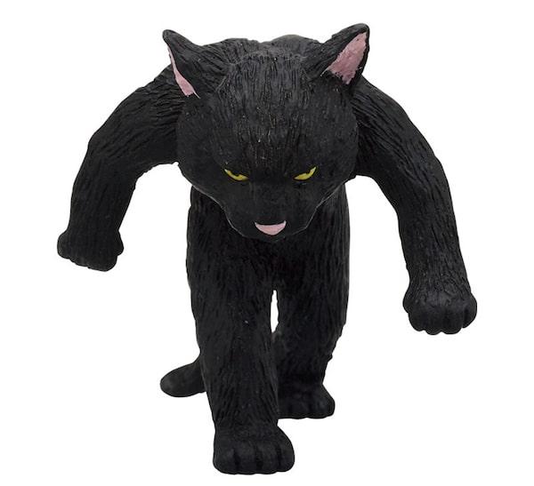 黒猫のフィギュア by たくましい猫