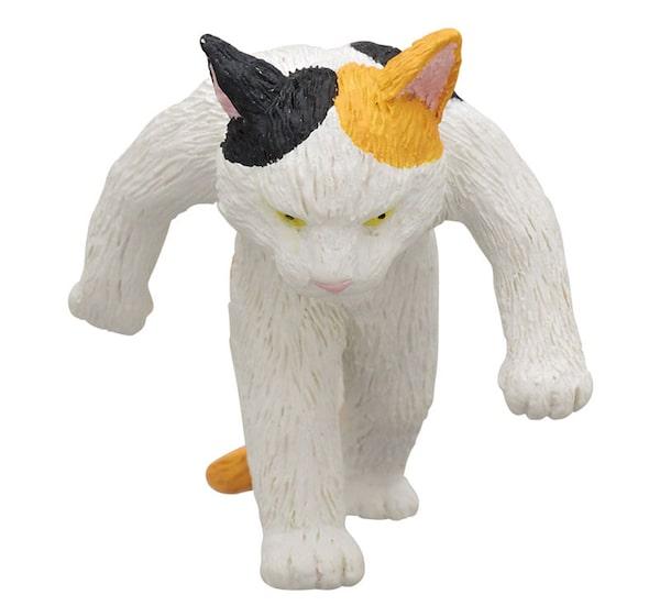 三毛猫のフィギュア by たくましい猫