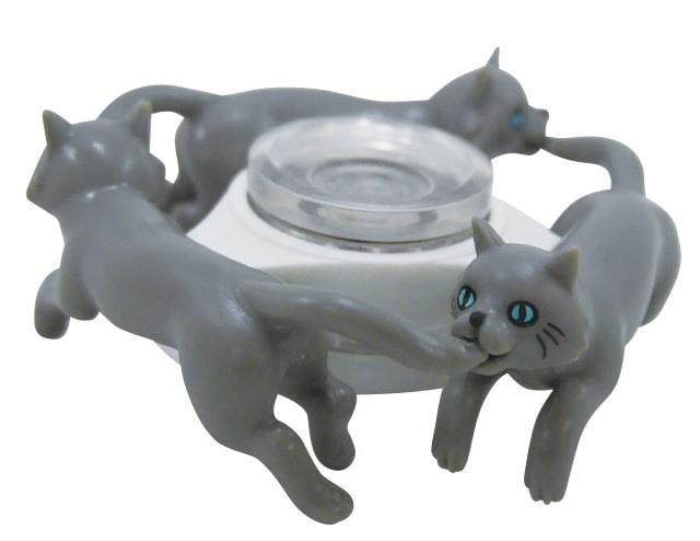 ハンドスピナーの猫版「スピにゃ〜」のロシアンブルーバージョン