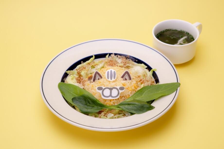 猫の鮭チャーハン(中華スープ付き)by ボンレスカフェ