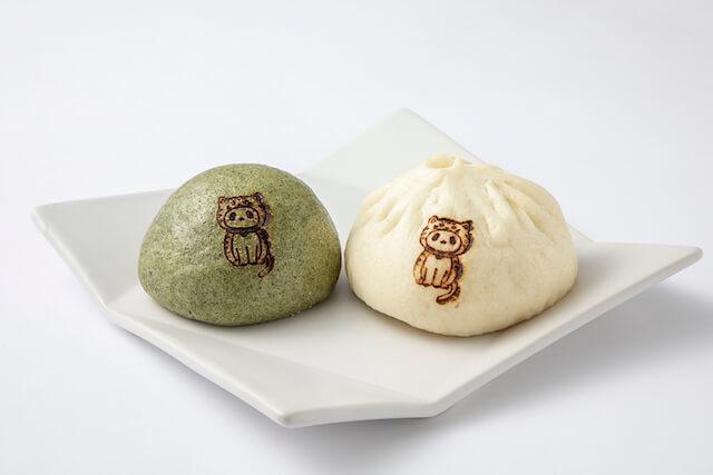 「うえきゅん」の肉まん&あんまんセット by PAOPAO