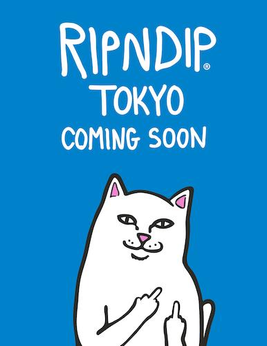 RIPNDIPのブランドアイコン、猫キャラのLord Nermal(ロード ナーマル)