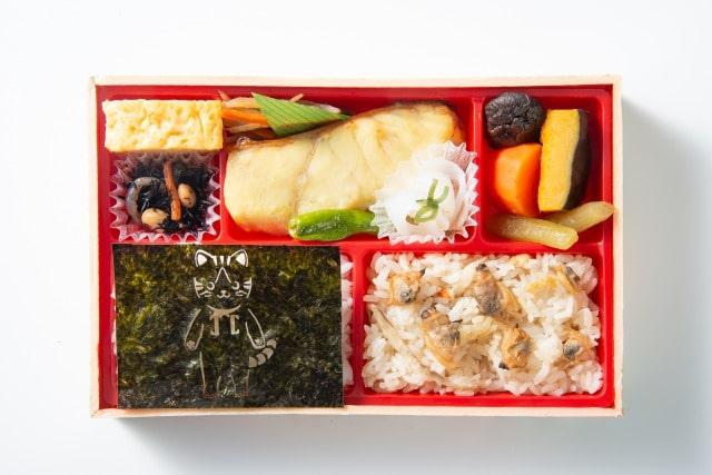 にゃらん海苔付き西京焼き弁当