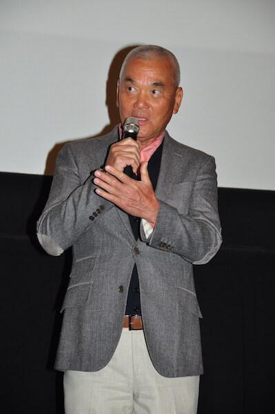 撮影エピソードを語る岩合光昭 by 映画「ねことじいちゃん」の完成披露試写会イベント