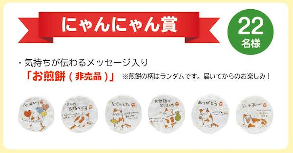 みたらしちゃん フォトコンテスト2019の賞品2