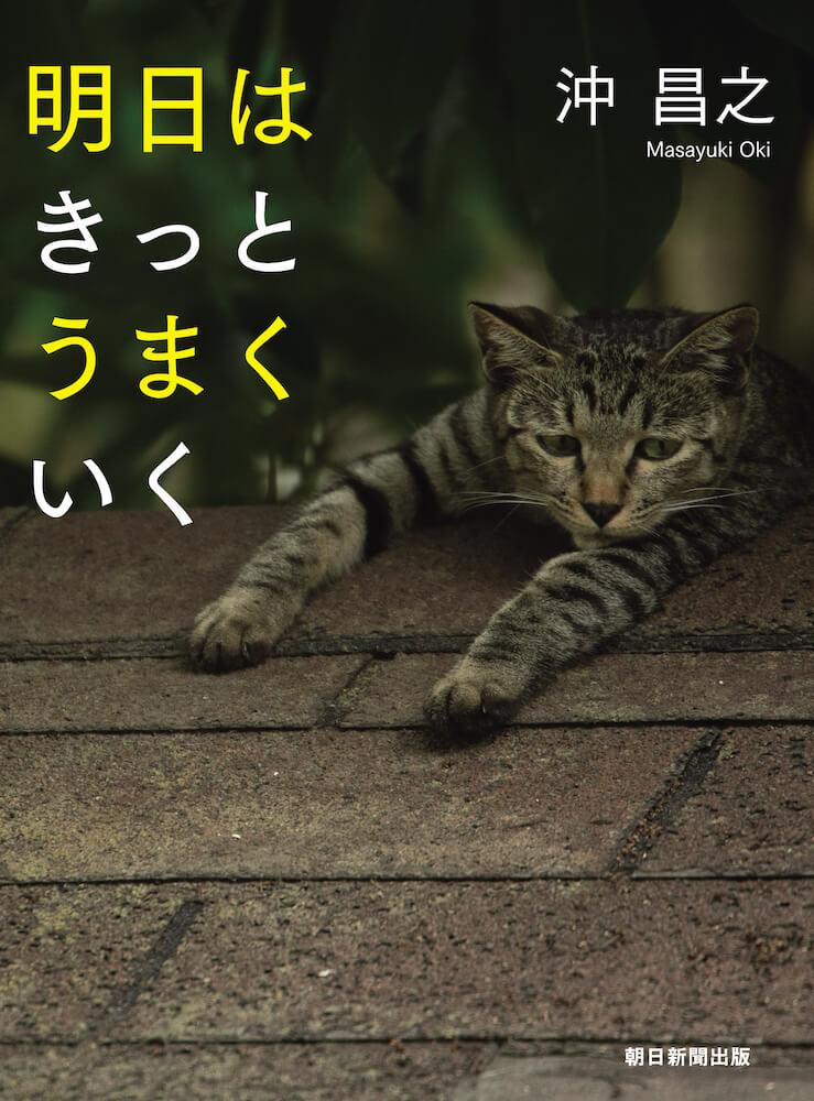 沖昌之さんによる新しい写真集「明日はきっとうまくいく」の表紙
