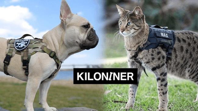 ミリタリーテイストのデザインが特徴的なペット用品ブランド「KILONINER(キロナイナー)」