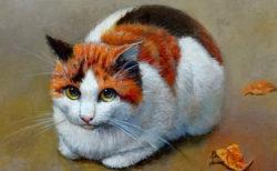 12名の作家による猫のアート作品を展示、WEB展覧会「猫づくし展」が3/5から開催中