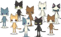 猫キャラと現実世界を歩いて楽しむ位置情報ゲーム「ビットにゃんたーず」