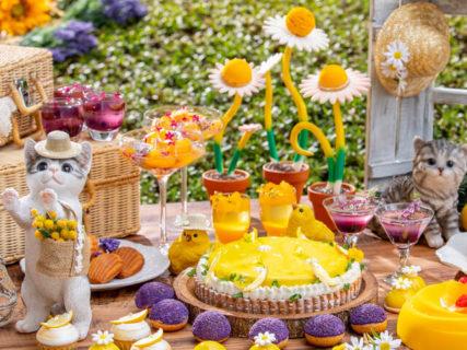 猫と苺のデザートビュッフェ「ストロベリーCATS コレクション」に新作スイーツが追加&会期延長も決定