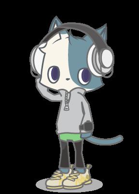 位置情報ゲーム「ビットにゃんたーず」の猫キャラ