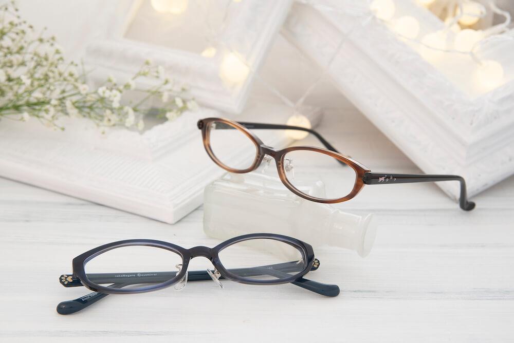 猫デザインの眼鏡「Biscuit Maker」ビスケットメーカー~猫のおてて~