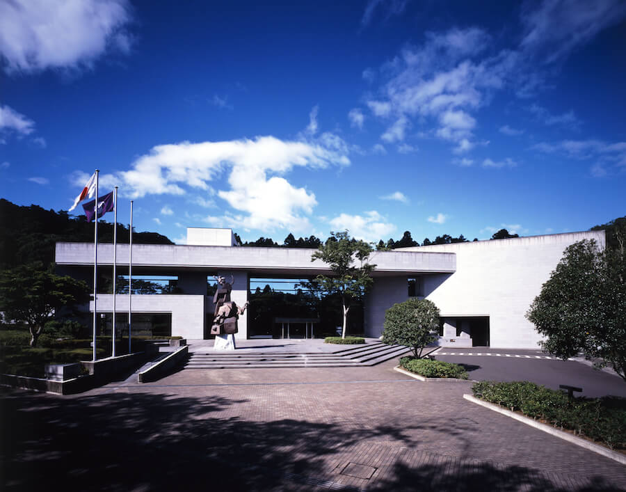 仙台市博物館の外観