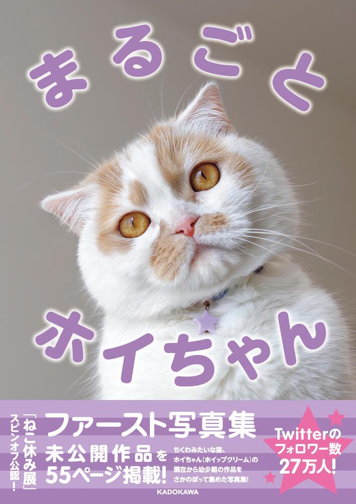 「まるごとホイちゃん ファースト写真集」の表紙