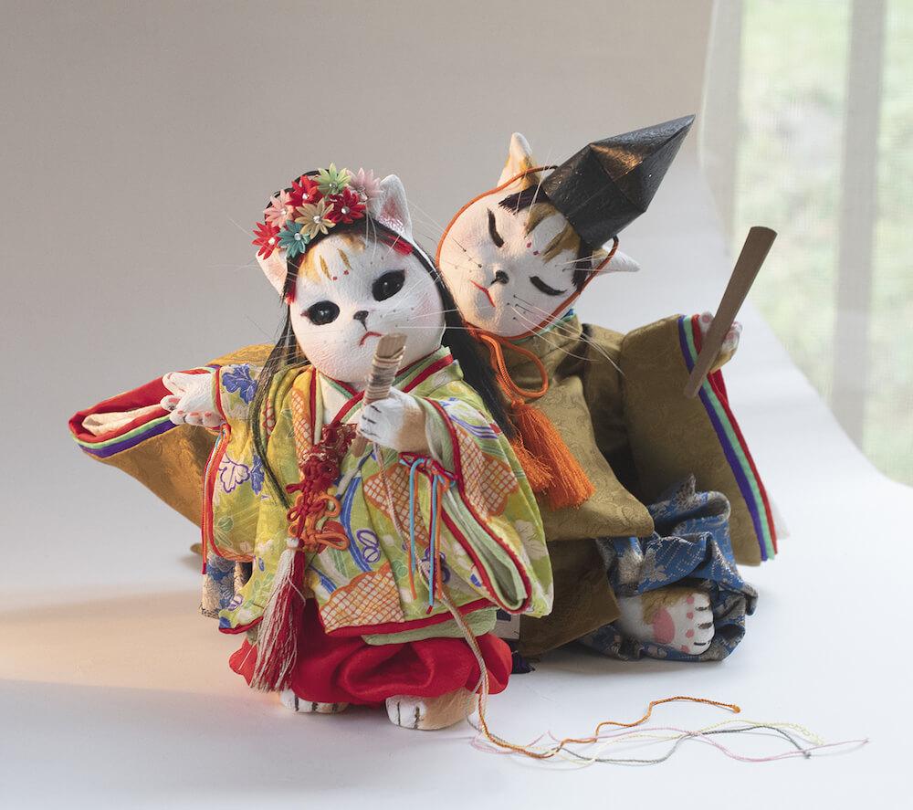 猫の創作人形 by 石渡いくよ